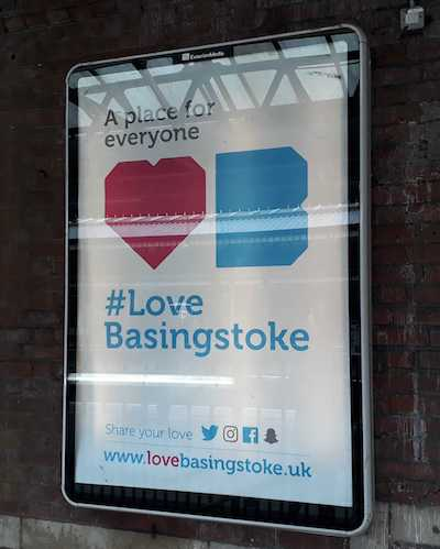 train station poster basingstoke